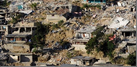 Terremoto devastador en Haití