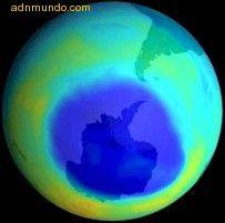El agujero de la capa de ozono cada vez más grande
