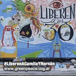 Los 30 detenidos de Greenpeace llegaron a San Petersburgo
