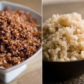 Los aminoácidos carentes en cereales comunes están presentes en la quinoa y el amaranto.