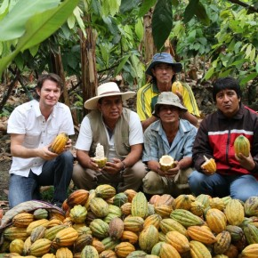 Cacao elaborado de manera biodinámica