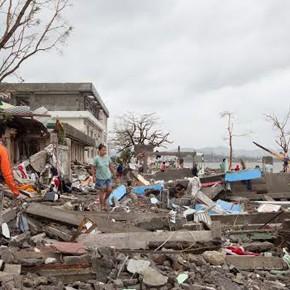 El supertifón en Filipinas, en un documental