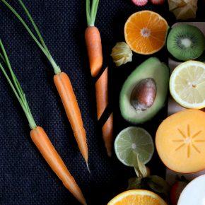 Consumir frutas y verduras orgánicas